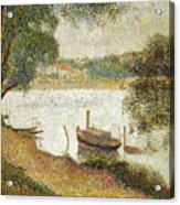Seurat: Gray Weather Acrylic Print by Granger