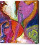 Seven Faces Acrylic Print
