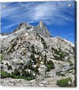 Seven Gables Over Seven Gables Lakes - Sierra Acrylic Print