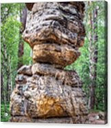 Seven Loaves - Rock Formation Acrylic Print