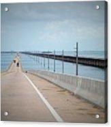 Seven Miles Of Bridge Acrylic Print