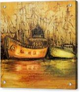 Seven Seas Acrylic Print by Fatima Stamato