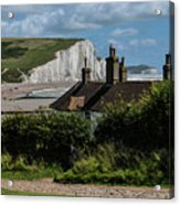 Seven Sisters Cottage Acrylic Print