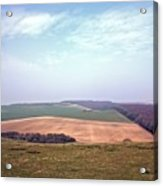 Seven Sisters Country Park Acrylic Print
