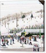 Seven Springs Stowe Slope Acrylic Print