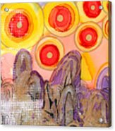 Seven Suns Acrylic Print