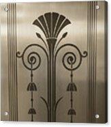 Severance Hall Art Deco Door Detail Acrylic Print