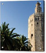 Seville - A View Of Torre Del Oro 2 Acrylic Print