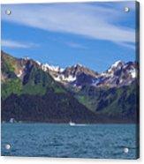 Seward Mountains Acrylic Print