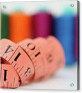Sewing Kit Acrylic Print