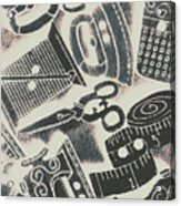 Sewing Scenes Acrylic Print