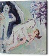 Sex With A Yeti Acrylic Print