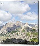 Sextener Dolomites Acrylic Print