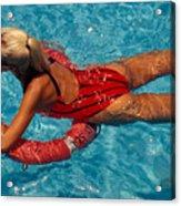 Sexy Red Bikini Acrylic Print