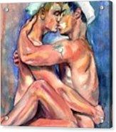 Sexy Sailors Acrylic Print