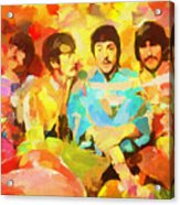 Sgt. Peppers Lonely Hearts Acrylic Print