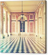 Shabby Chic Versailles Columns Of Grand Trianon Acrylic Print