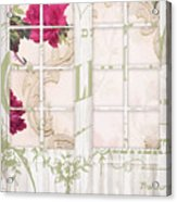 Shabby Cottage French Doors Acrylic Print