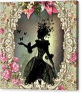 Shabby Fae Silhouette Freedom Acrylic Print