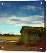Shack And Moody Skies Acrylic Print