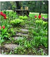 Shade Garden 2  Acrylic Print