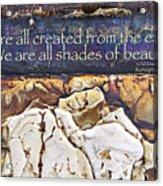 Shades Of Beauty Acrylic Print by Kevyn Bashore
