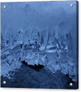 Shades Of Blue Acrylic Print