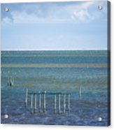 Shades Of Blue On The Horizon Acrylic Print