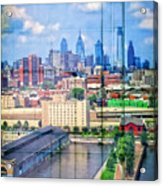 Shades Of Philadelphia Acrylic Print