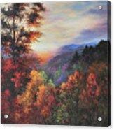 Shades Of Twilight Acrylic Print