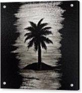 Shadow Beach Acrylic Print