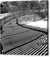 Shadow Beauty Acrylic Print