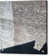 Shadow Brick Acrylic Print