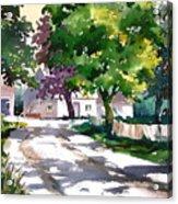 Shadow Colors Acrylic Print