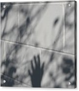 Shadow Hand Acrylic Print