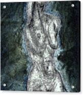 Shadow In Nude Acrylic Print