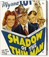 Shadow Of The Thin Man, Myrna Loy Acrylic Print