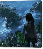 Shadow Of The Tomb Raider Acrylic Print