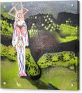 Shadow Self 2 Acrylic Print by Jenny Saltzman