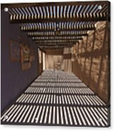 Shadows And Beams Acrylic Print