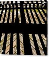 Shadows And Lines - Semi Abstract Acrylic Print