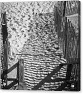 Shadows In The Sand Acrylic Print