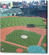 Shadows Of  Fenway Park Acrylic Print