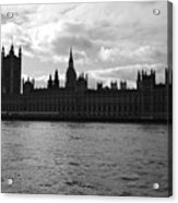 Shadows Of Parliament Acrylic Print
