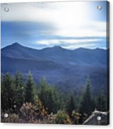 Shadows Of The Majestic , White Mountains Acrylic Print