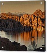 Shadows Of The Setting Sun Tx2 Acrylic Print