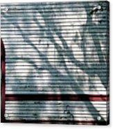 Shadows On Churchdoor Acrylic Print