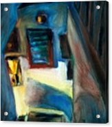 Shadows On The Down Stairs Acrylic Print