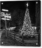Shady Grove Austin Bw Acrylic Print