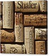 Shafer Wine Acrylic Print